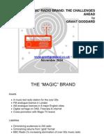 """'EMAP's """"Magic"""" Radio Brand"""