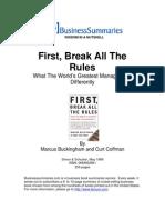 First Break All the Rules BIZ[1]