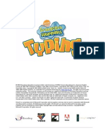 Spongebob Square Pants Typing (PC Game) User Guide