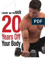 How to Knock 20 Years Off Your Body