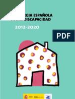 Estrategia Española sobre  Discapacidad 2012-2020