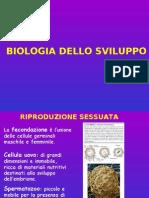 Biologia Applicata - Biologia Dello Sviluppo