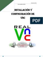 Instalación y configuración de VNC