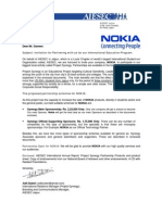 Sample proposal letter for partnership invitation for business partnership for mr sameer from nokia stopboris Images