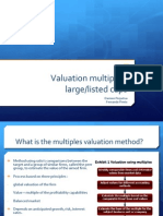 Presentation - Large Cap Multiples 1