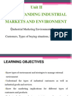 Industrial Marketing Environment Unit 2