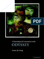 De Jong,A Narratological Commentary on the Odyssey[1]