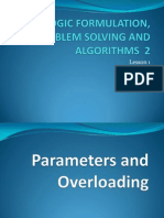 4-Parameters and Overloading