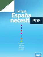Programa Electoral Partido Popular