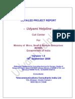 MSME DPR Call Centres Ver1.0