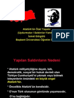 Ataturk Un Ozel Yasami