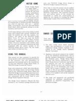 73 Travco Operators Manual