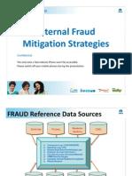Internal Fraud Mitigation