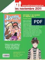 Novedades noviembre Glenat 2011