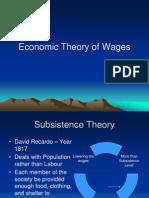 Wage Theory