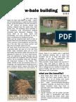 Factsheet Straw Bale