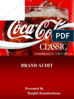 Brand Audit Coke