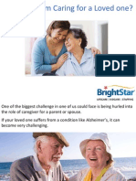 Stressed From Caring for a Loved one?