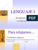 El Lenguaje Lengua Habla
