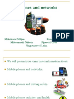 Mobile Phones and Networks