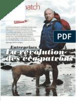 1% in Paris Match 20-10-2011 Pata & Léa