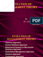 2. Evolution of Management Theory