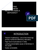Creating Awareness About Vitamin-A Deficiency
