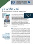Le Grand Jeu - Note d'analyse Géopolitiques n°41