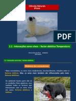 4 - CN 8 - interacção seres vivos-factor abiótico temperatura