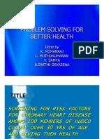 Screening for Risk Factors for Coronary Heart Disease
