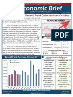 Rep. Brown November 2011 Economic Brief