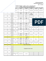 Sem-III (2010-12)  time table W.E.F. 12.10