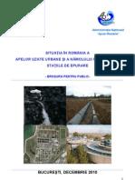 Broșură ape uzate pentru public 2010