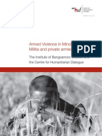 Armed Violence in Mindanao