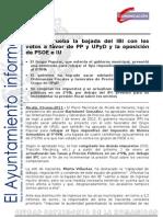 HACIENDA Pleno Ordenanzas Fiscales2012