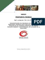 OFERTA TECNICA (Incluye Anexo Nº 3)
