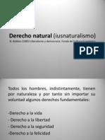 Derecho Natural Iusnaturalismo