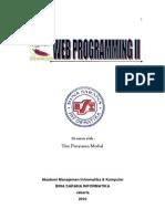 Modul d3 Web Programming II Revjuli2010