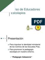 Curso de Educadores Escolapios en Venezuela