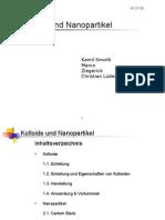 Kolloide Und Nanopartikel Neu