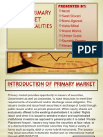 Primary Market Ppt