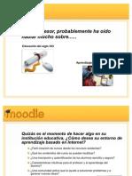 Presentacion de Moodle