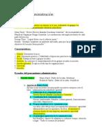 Resumen Administración - Certamen 1