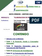 Modulo I Lideres 2010  IDEA Potosí 21 al 23-5-10