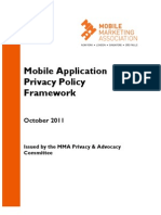 MMA Mobile Application Privacy Policy 18Oct2011