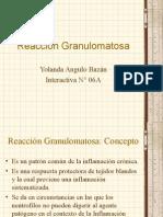 Reacción Granulomatosa