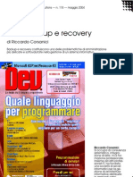 Linux backup e recovery