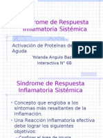 Síndrome de Respuesta Inflamatoria Sistémica