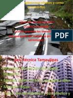 Los Terremotos y Sus Efectos y Como Prevenirlos