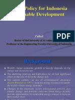 Energy for Sustainable Development